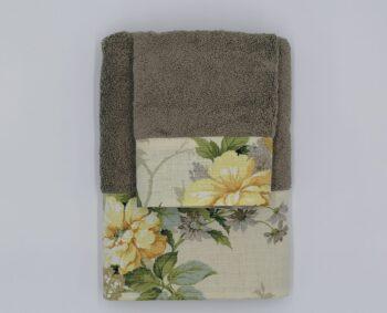 Coppia di asciugamani bella regalo