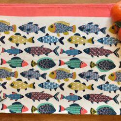 Tovaglietta americana pesci